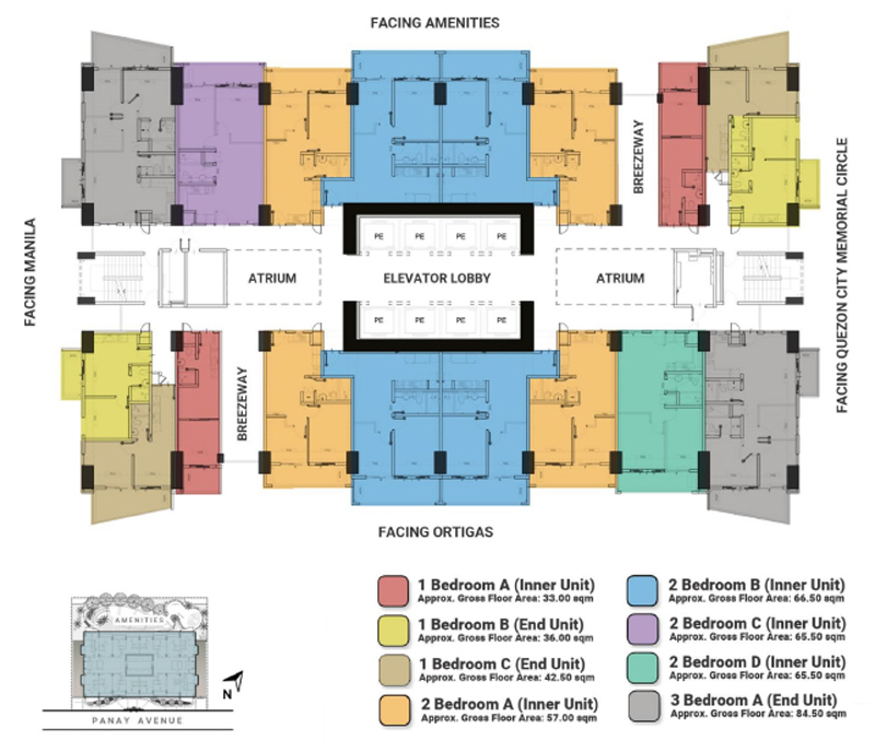 The Crestmont Floorplan 12 and 23F