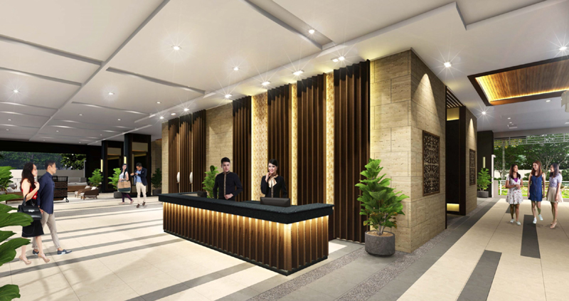 The Crestmont Reception Lobby